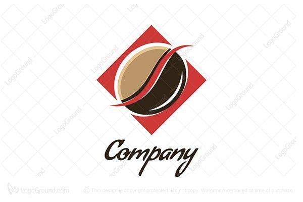 $150 Logo for sale: Coffee Bean Logo