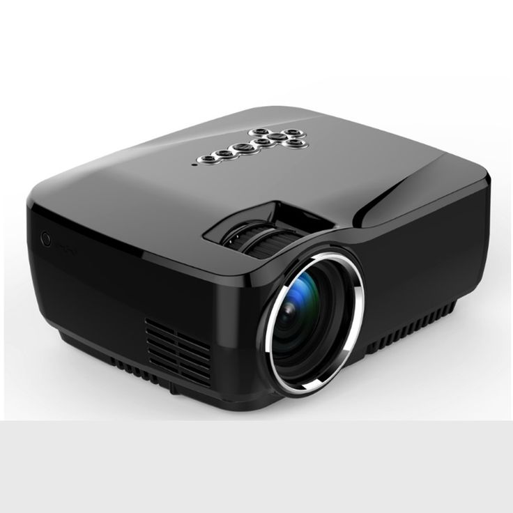 Desxz LED Projector Android 4.4 miracast 3D hd Mini proyector hdmi 1600lumen home theater multimedia projetor Proyector wireless #Affiliate
