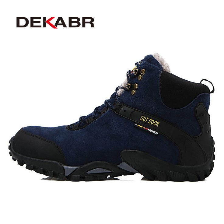 DEKABR New Waterproof Suede Hiking Boots Shoe Anti-Skid Wear Resistant Breathable Fishing Shoes Climbing High Top Trekking Shoes free shipping worldwide