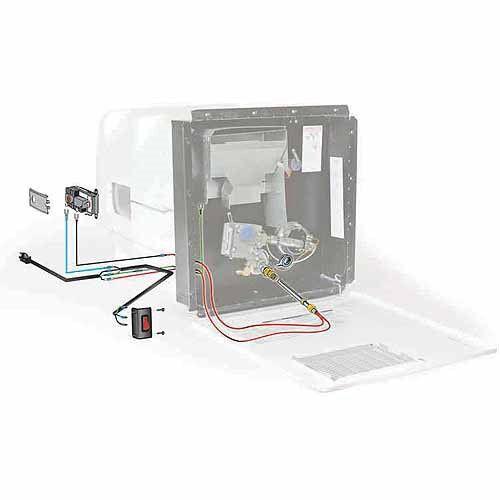 Camco 11673 Hot Water Hybrid Heat Kit 6 Gallon Multi Rv Water Heater