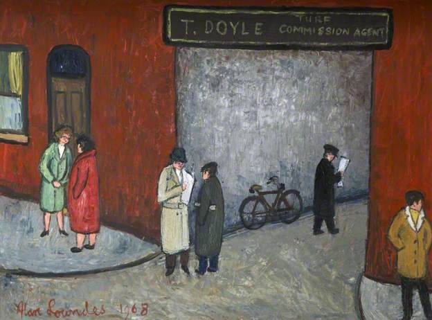 Egerton Mews, Stockport, Alan Lowndes