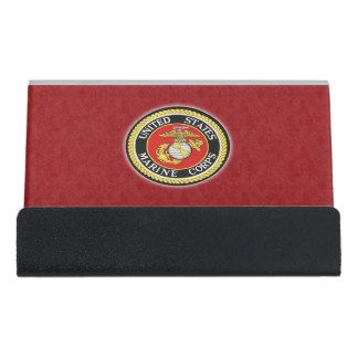 Great gift for a marine recruiter of veteran for their for Marine corps business cards