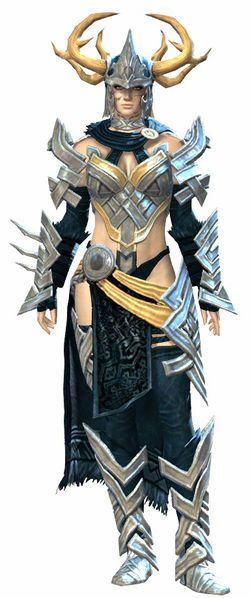 Heavy Norn armour for Grizel.