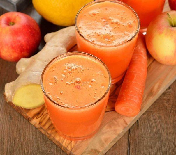 ЛЕЧЕНИЕ СВЕЖИМИ СОКАМИ http://pyhtaru.blogspot.com/2017/04/blog-post_30.html  Лечение свежими соками!  Для чистоты тела  Смешайте сок из 3 частей яблока, 1 части имбиря и 3 частей моркови. Главная польза от этой смеси соков - восстановление (омоложение) тела, для совершенной и сияющей кожи.  Читайте еще: =================================== ШАМПУНИ ДОМАШНЕГО ПРИГОТОВЛЕНИЯ http://pyhtaru.blogspot.ru/2017/04/blog-post_29.html ===================================  Косметологи обычно…