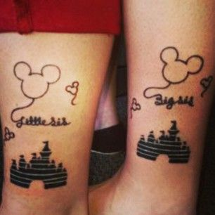 27 Heart-Melting Sister Tattoos *Sorry Nessa, I wasn't sure how to post it to you, so I putt here.
