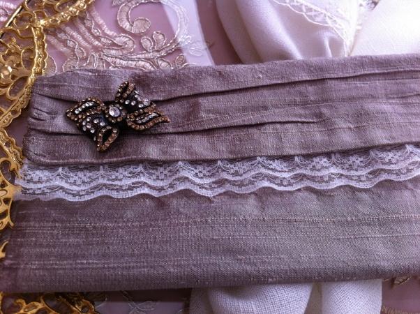 Şantuk kumaş davetiye zarfı, nikah şekeri, düğün davetiye tasarımları