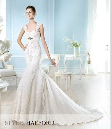 San Patrick Wedding Gown - 2014 Costura Collection - Hafford