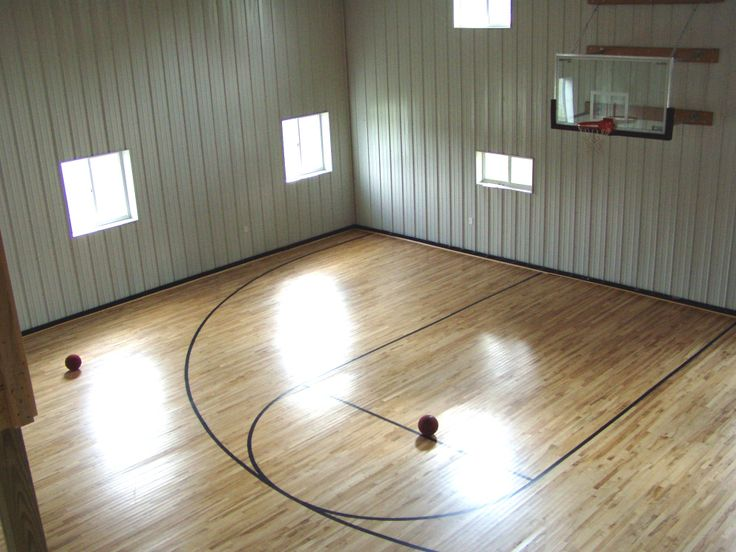 66 best images about ideas for the ultimate garage shop on for How to build a basketball gym