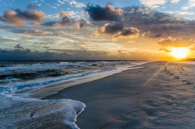 Alabama Beach Sunset in Gulf Shores