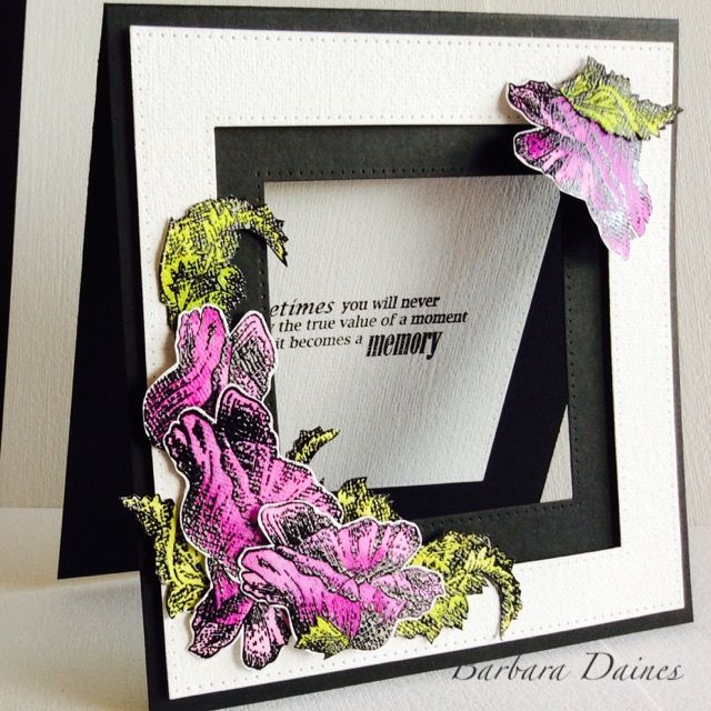 One of my  Bee Crafty samples for the Hochanda show, live from Ally Pally 8th April.