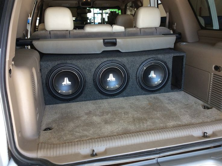 Is your audio system ready for a summer road trip? The team at our West Carrollton store recently brought this Chevy Tahoe's aging audio system up-to-date with a new JVC receiver, an Arc Audio amplifier, and a trio of JL Audio subwoofers in a ported enclosure! To learn more about what we can do for your vehicle, visit any of our four locations (California Custom Sounds Beavercreek, California Custom Sounds West Carrollton/Moraine, Stereo-In-Dash North Dixie, and Stereo-In-Dash South).