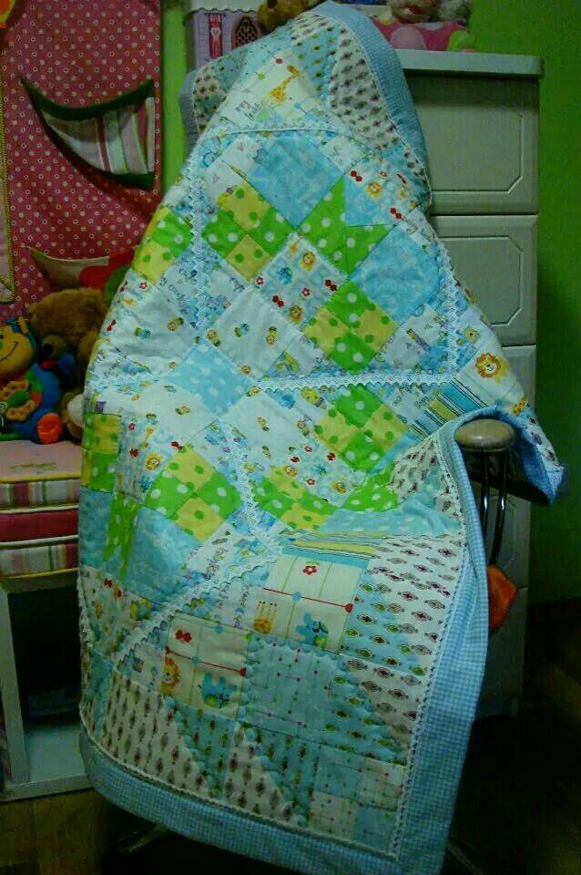 Одеялко для мальчика Quilt for boy