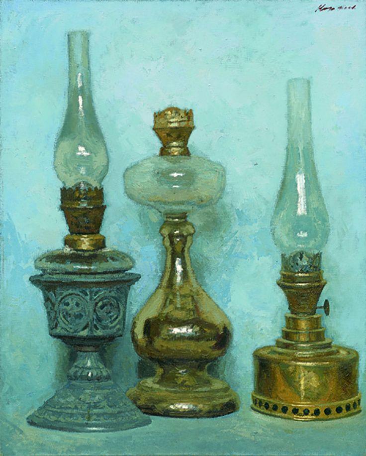 """""""Old Lamps"""" - Geliy Korzhev"""