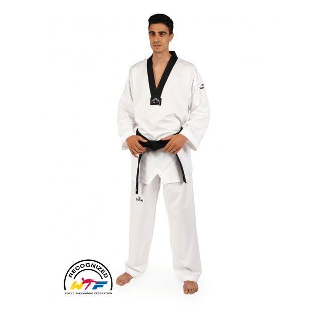 Dobok Taekwondo Alta Competención ULTRA W.T.F. Oficial - €75.01   https://soloartesmarciales.com    #ArtesMarciales #Taekwondo #Karate #Judo #Hapkido #jiujitsu #BJJ #Boxeo #Aikido #Sambo #MMA #Ninjutsu #Protec #Adidas #Daedo #Mizuno #Rudeboys #KrAvMaga #Venum