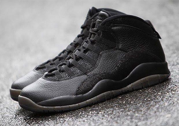 """Air Jordan 10 OVO """"Black"""" In Detail - Air Jordans, Release Dates & More   JordansDaily.com"""