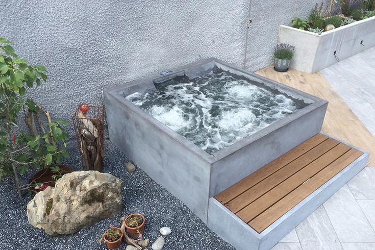 Beton Whirlpool | Design Beispiel von Dade Design …