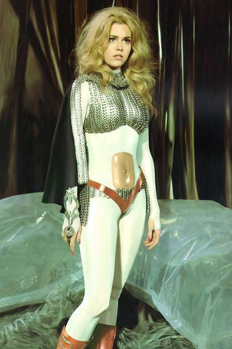 It's Barbarella's 45th anniversary! I'll be sportin' this look at www.Barbarellesque.com