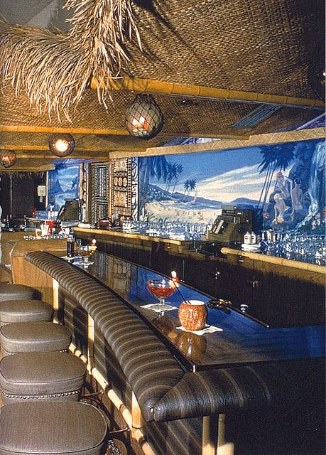 Coolest of tiki bars