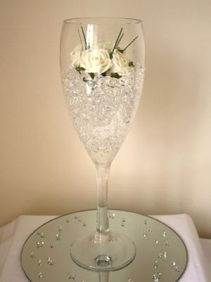 giant wine glass table centre - Google Search