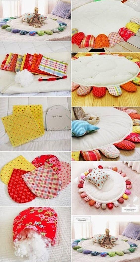 Hogy tetszik ez a baba játszószőnyeg? Szerintem nagyon szép, és a lépésről-lépésre képek alapján könnyen elkészíthető. Ajándéknak is remek...