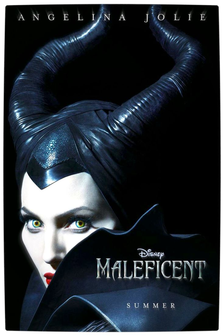 Disney has released the first poster for maleficent featuring angelina jolie in all her wicked glory the film stars jolie as maleficent the most iconic