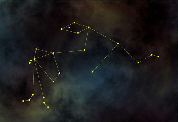 horoskop wassermann sternkonstellation