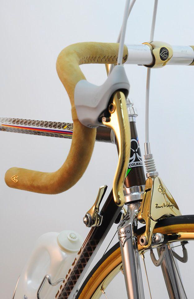 Colnagold By Javier Jubete And His Vintage Luxury Bicycles.