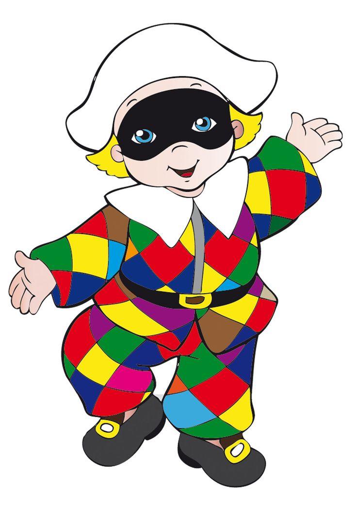 maschere di carnevale | Maschere di Carnevale Italiane in Versione Bambini da Stampare ...