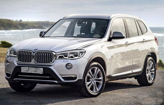 2018 BMW X3 G01 SUV Rendering
