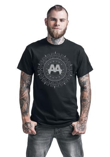 "Classica T-Shirt uomo nera ""Mandala"" degli #AskingAlexandria."