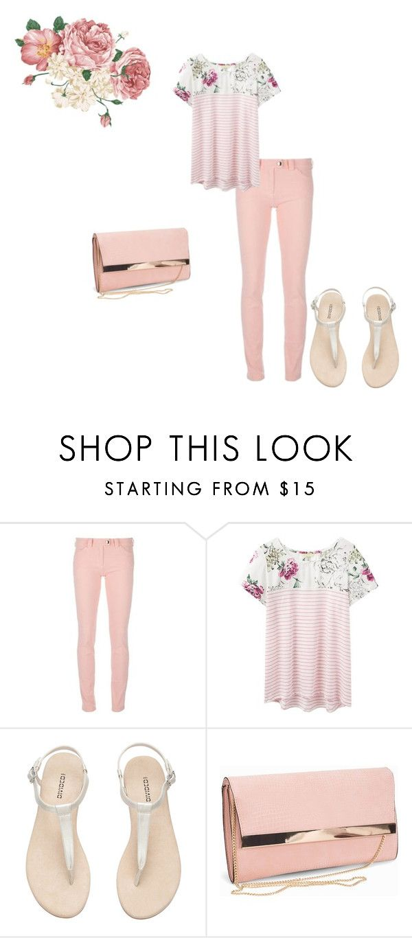 """""""The Newest Trend: Pink Jeans"""" by sofia-b04 ❤ liked on Polyvore featuring Balenciaga, Joules and New Look"""