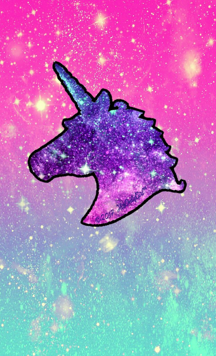 Sweet unicorn galaxy wallpaper I created for the app CocoPPa.