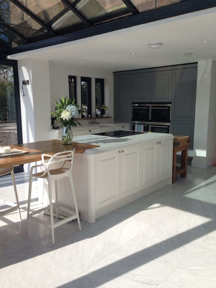 My Finished kitchen in gullwing grey and linen sculptured Matt ...