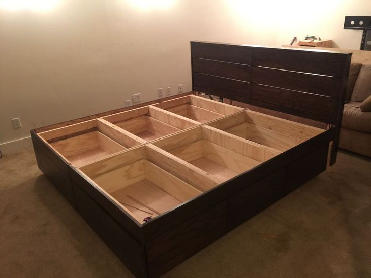 Best 25 Bed With Drawers Underneath Ideas On Pinterest