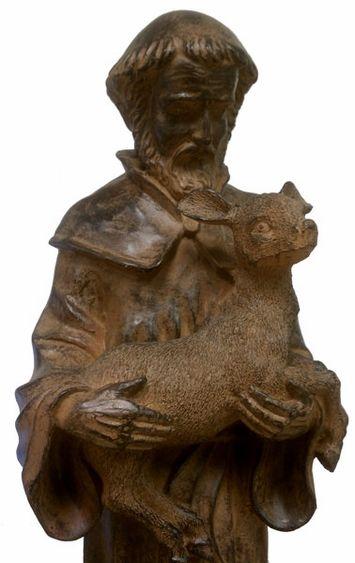 St. Francis Garden Statue, Patron Saint of Animals.