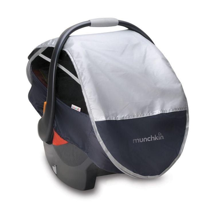 Le héros des microbophobes!Protégez votre bébé des éléments, des insectes et des microbes grâce à cette protection pliante contre le soleil et la pluie qui bloque plus de 98% des UV nocifs.