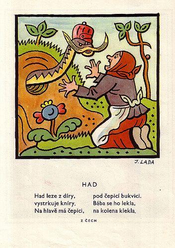 Illustration from Lada's 'Detem' | josef lada. detem. book. … | Flickr