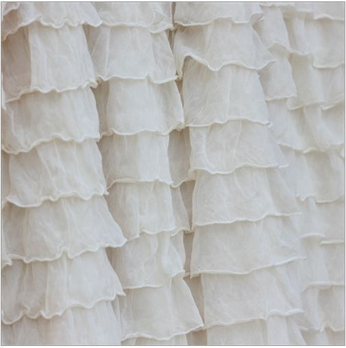 "Add a little pizazz to your crib bedding by adding a ruffle crib skirt. Incorporates shabby chic baby room décor to your girl nursery - Baby Bed Skirts crib bedding are made with an extra long 16"" dro"