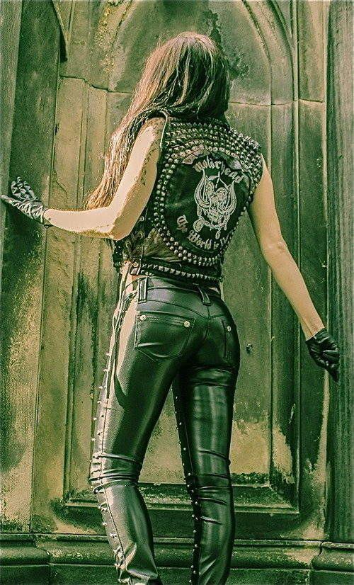 toxic vision motorhead | TOXIC VISION studded Motorhead warrior vest — Toxic Vision