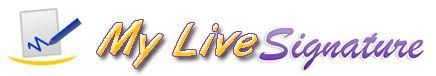 ♥♥♥ My Live Signature: Online Signature Creator