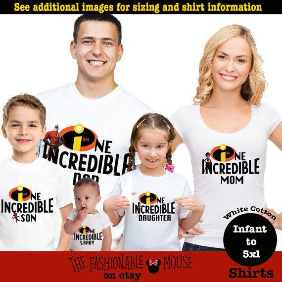 Disney Incredible Shirt Disney Incredible Family Shirts