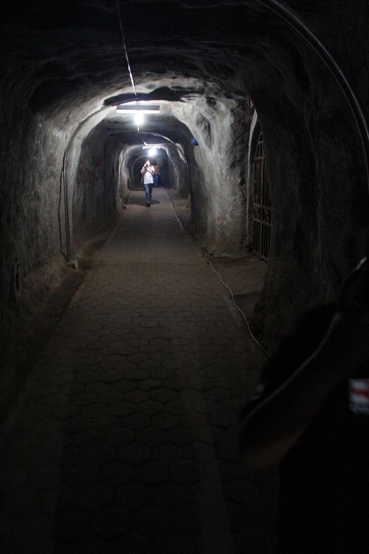 Black Japanese Tunnel (Lobang Jepang) by Tombak Matahari on 500px