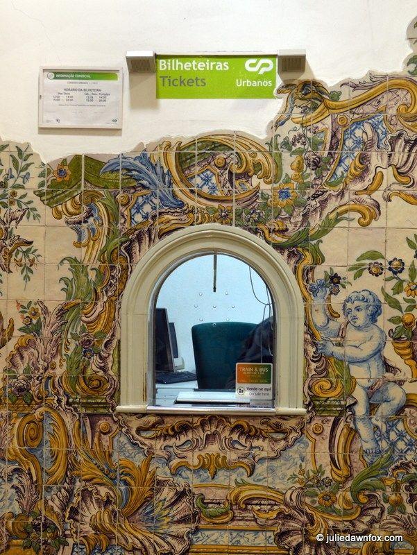 Azulejos, Sintra Train Station