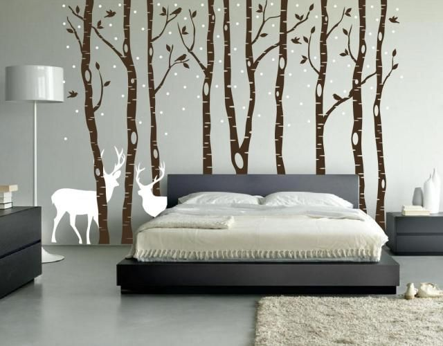 Heres How To Decorate Your Bedroom Walls Without Painting Them