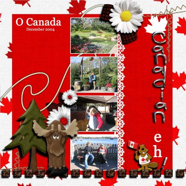 Canada layouts (General) - Page 2 - MouseScrappers.com