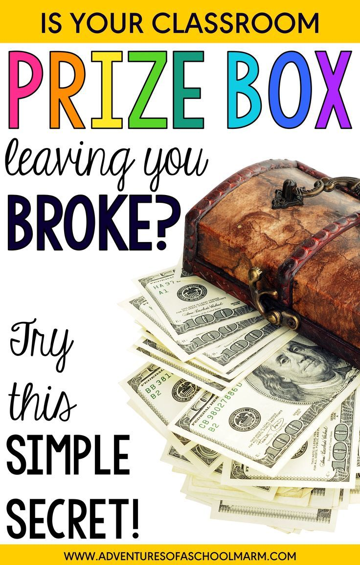 """Is your classroom prize box leaving you broke? Try this simple secret! Never spend money on """"things"""" again AND increase intrinsic motivation at the same time! WIN- WIN!"""