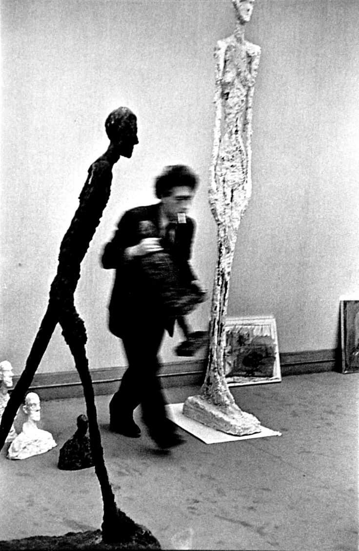 Henri Cartier-Bresson: Alberto Giacometti, 1961 TJANN TJANTEK ART SPACE ATELIER DIA DIAiSM ACQUIRE UNDERSTANDING
