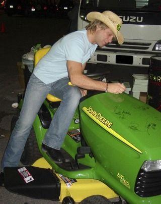 Jon Bon Jovi - he makes my tractor sexy