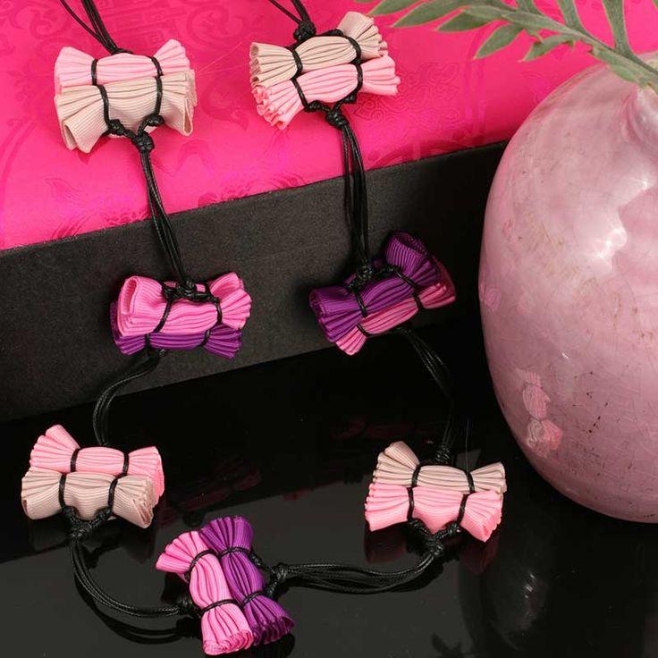 MOKO handmade pleated Gigi Necklace