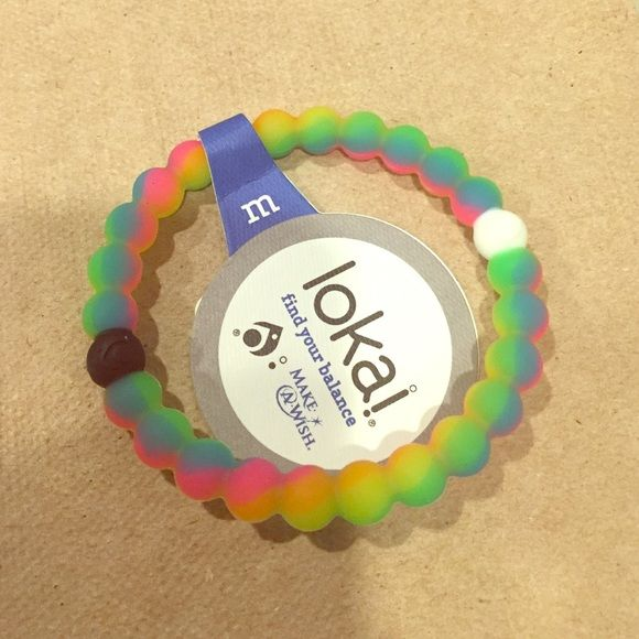 AUTHENTIC rainbow loaki Limited edition rainbow lokai bracelet If it does not have a SOLD banner it is AVAILABLE. I don't respond to price comments please use the offer button ❌I DONT TRADE PLEASE DONT ASK❌ Lokai Jewelry Bracelets